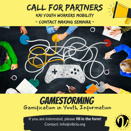 Call for partners. Topic_ Youth information & gamification (1)